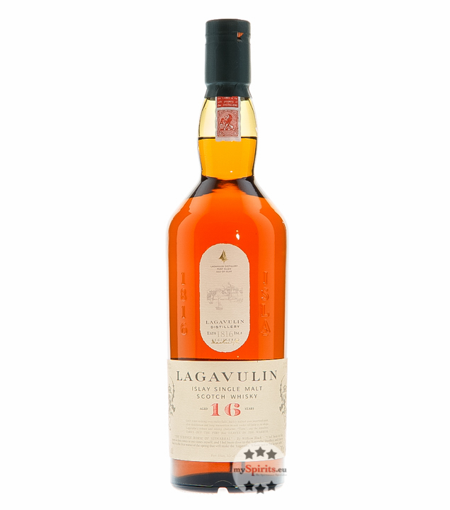Lagavulin 16 Years Islay Single Malt Scotch Whi...