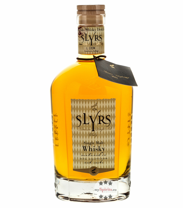 Slyrs Whisky: Bavarian Single Malt / 43 % vol. ...