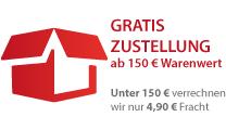 Gratis: Gratisversand bei Einkauf über 150,00 Euro innerhalb von Deutschland