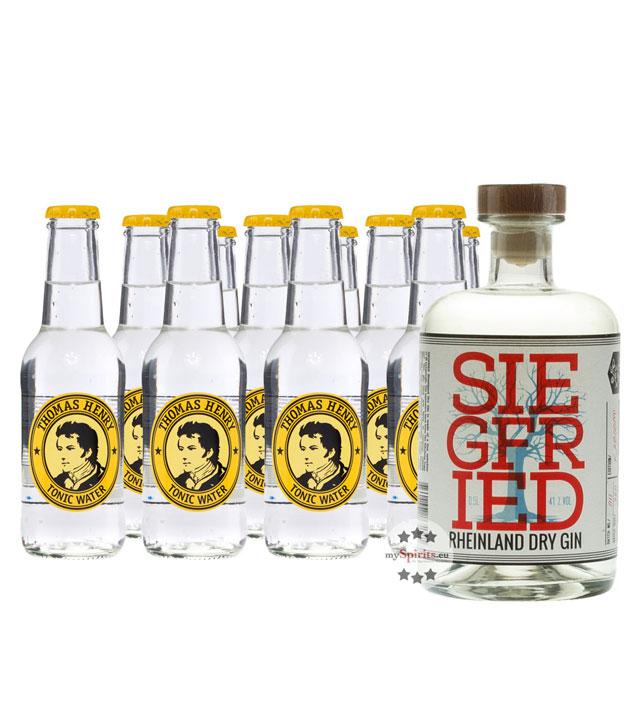 Siegfried Rheinland Dry Gin (41% Vol., 0,5 L) &...