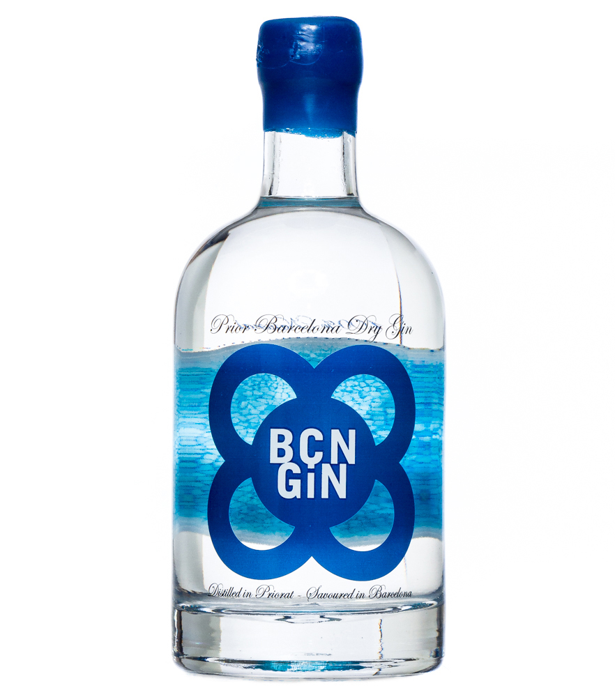 BCN Gin: Prior Barcelona Dry Gin / 40 % Vol. / 0,7 Liter-Flasche