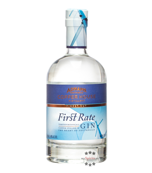 Adnams First Rate Gin / 48 % Vol. / 0,7 Liter-Flasche