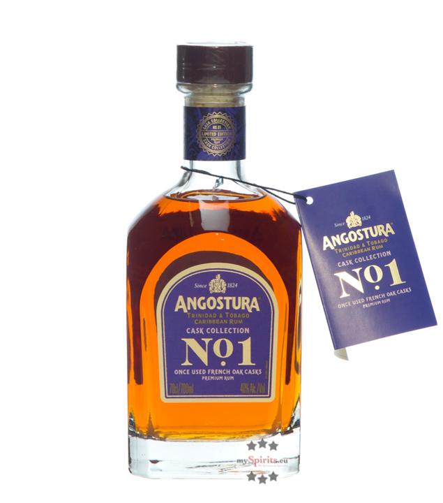 No.1 Rum 2. Edition 16 Jahre / 40 % Vol. / 0,7 Liter-Flasche in lila Geschenkdose
