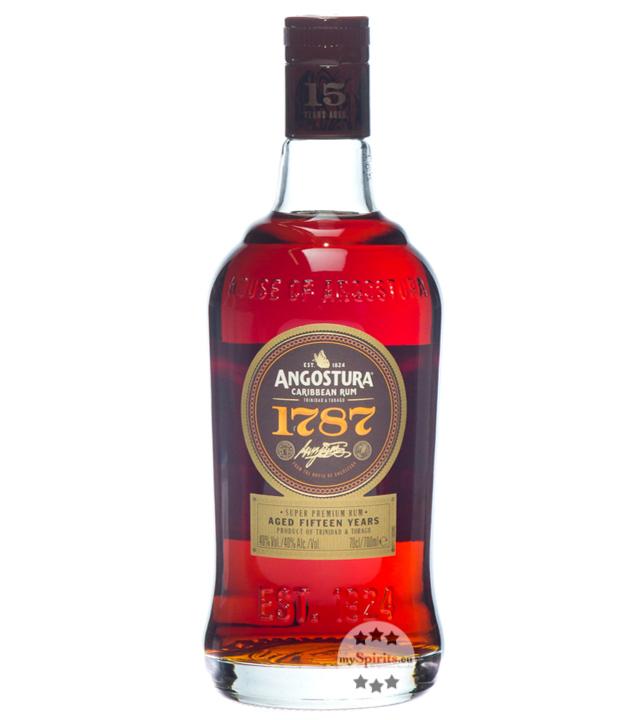 Rum 1787 15 Jahre / 40 % Vol. / 0,7 Liter-Flasche in Geschenkpackung