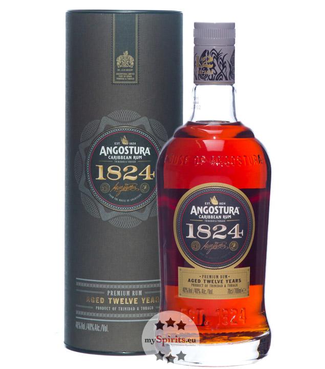 1824 12 Jahre Rum / 40 % Vol. / 0,7 Liter-Flasche in Geschenkdose