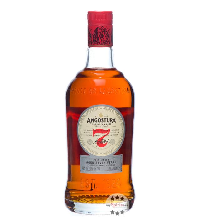 7 Jahre Dark Rum / 40 % Vol. / 0,7 Liter-Flasche