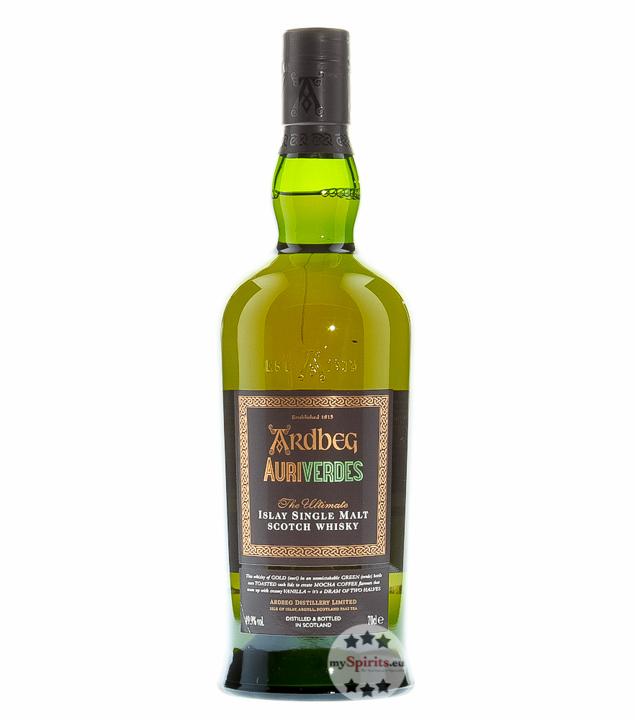 Ardbeg Auriverdes Islay Single Malt Scotch Whis...