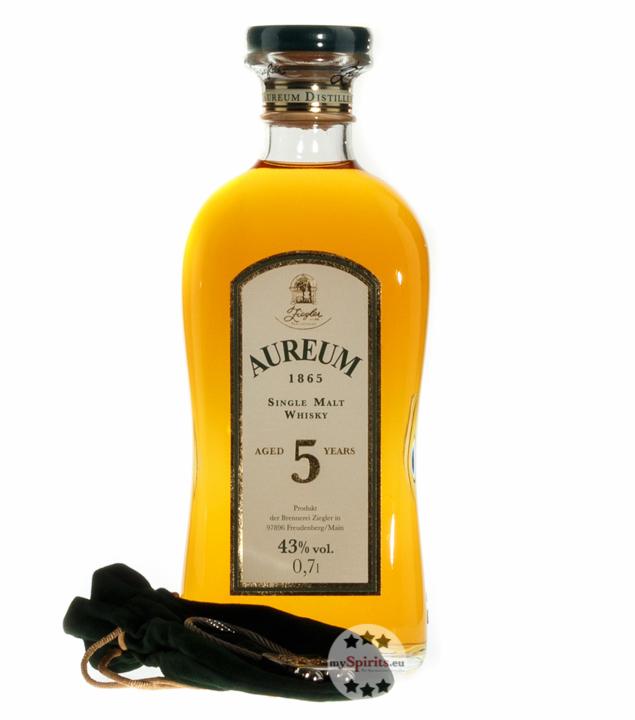 Ziegler Aureum 1865 5 Jahre Single Malt Whisky ...