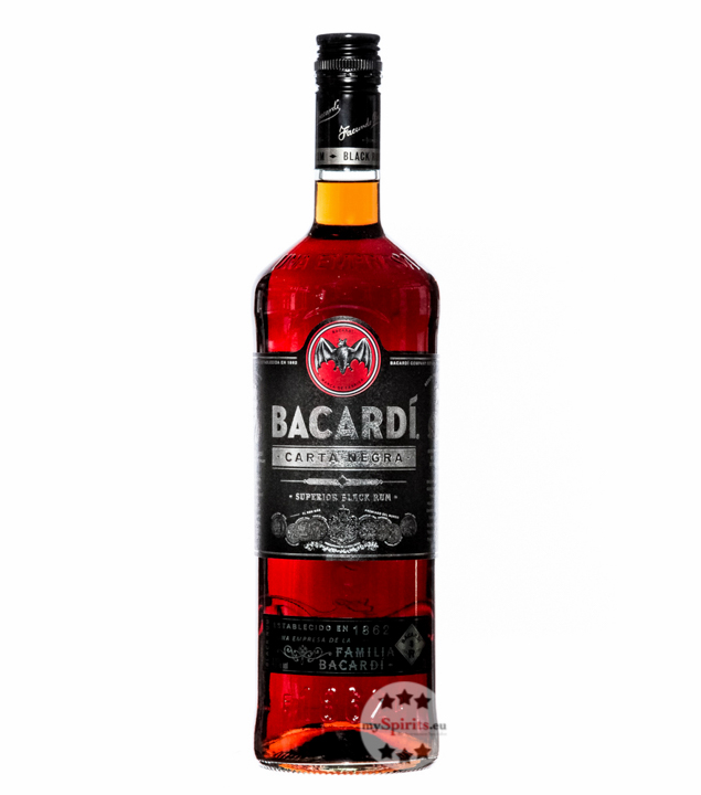 Black Carta Negra Rum / 40 % Vol. / 1,0 Liter-Flasche