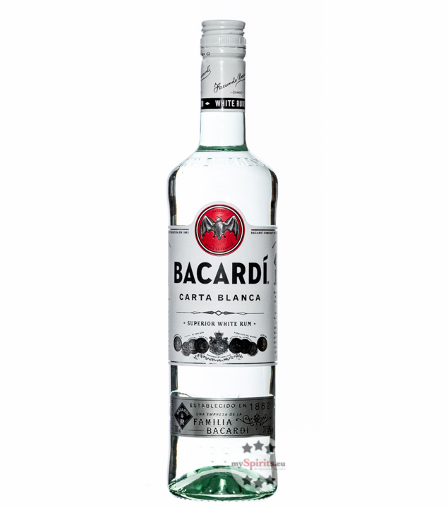 Carta Blanca Superior White Rum / 37,5 % Vol. / 0,7 Liter-Flasche