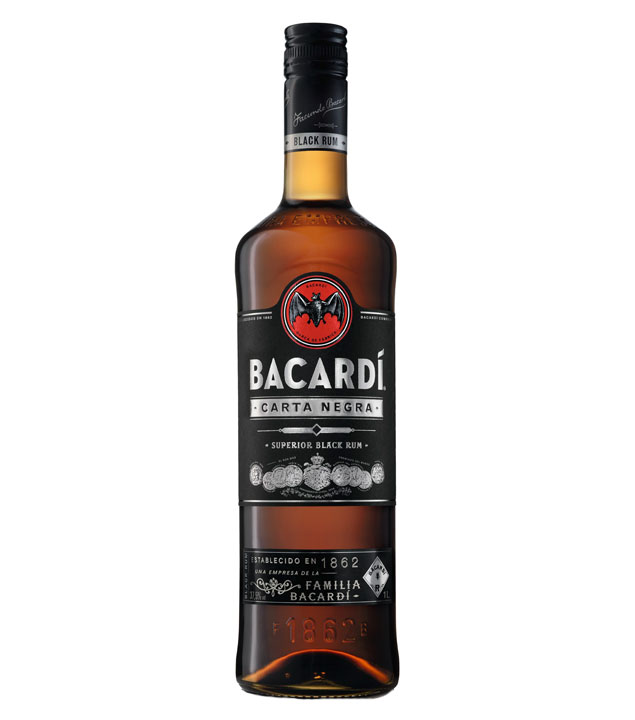 Black Carta Negra Rum / 37,5 % Vol. / 1,0 Liter-Flasche