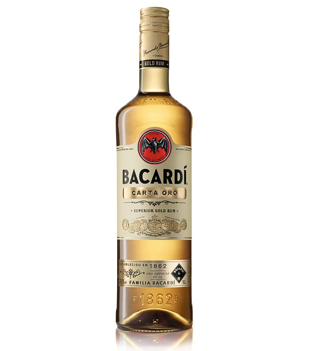 Carta Oro Superior Gold Rum / 37,5 % Vol. / 1,0 Liter-Flasche