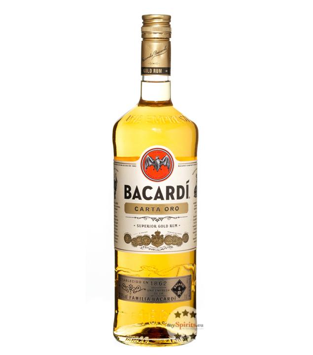 Carta Oro Superior Gold Rum / 37,5 % Vol. / 1,0 Liter-Flasche