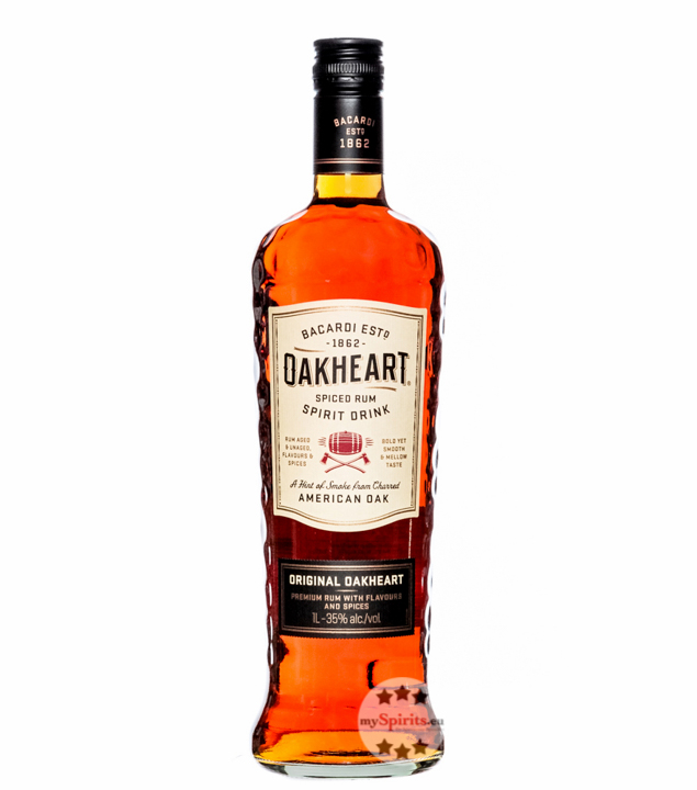 Oakheart Spiced Spirit / 35 % Vol. / 1,0 Liter-Flasche