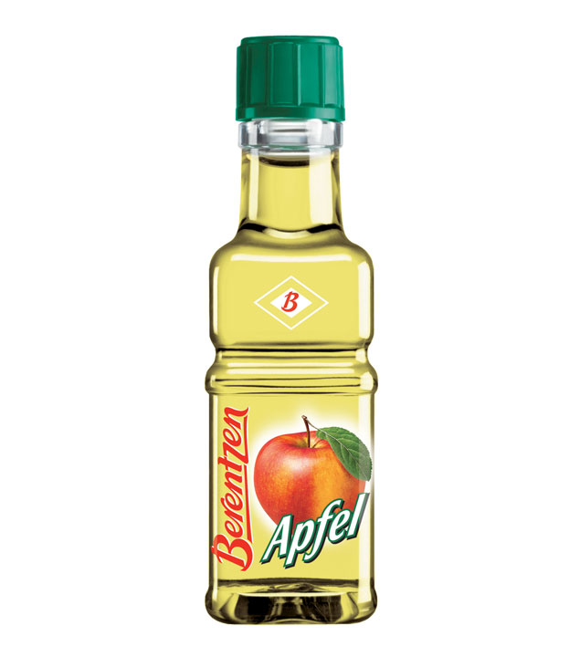 Berentzen: Apfelkorn Likör / 18% Vol. / 0,02 Liter-Flasche