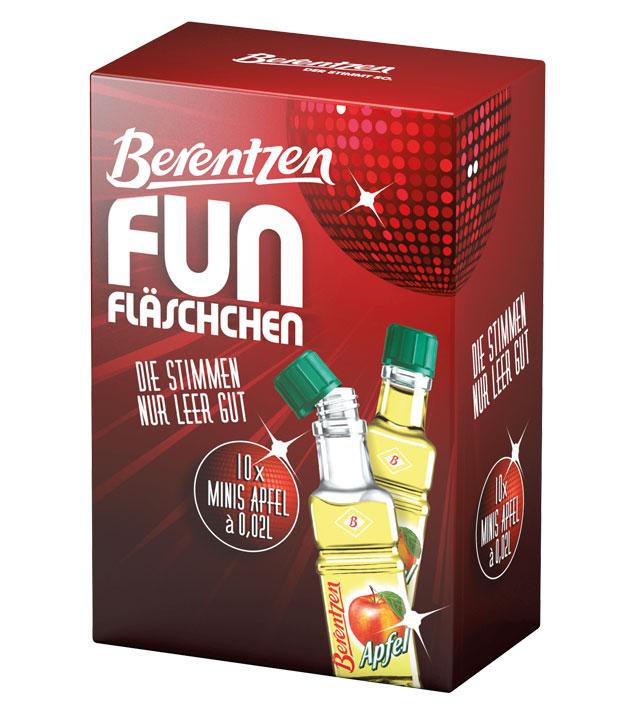 Berentzen: Fun Apfelkorn Likör Kombi / 18% Vol....