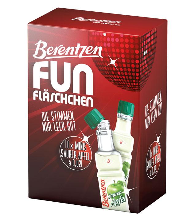Berentzen: Fun Saurer Apfel Likör Kombi / 16% V...
