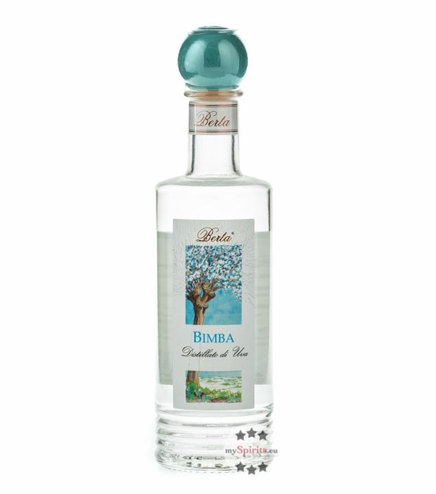 Distillerie Berta Bimba – Distillato di Uva / 40 % vol. / 0,2 Liter-Flasche