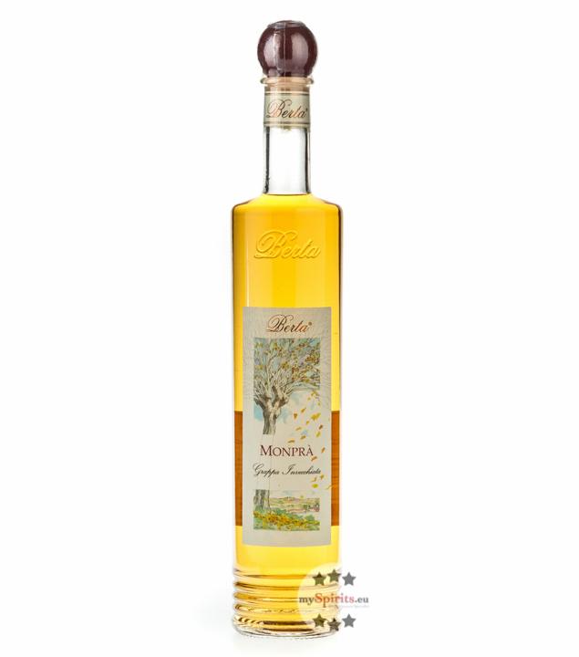 Distillerie Berta Monprà – Grappa Invecchiata / 40 % vol. / 0,7 Liter-Flasche
