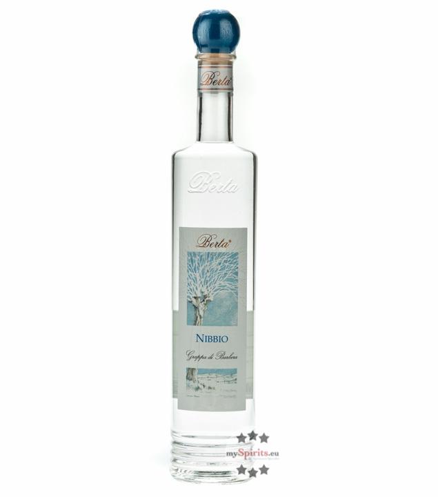 Distillerie Berta Nibbio - Grappa di Barbera / 40 % vol. / 0,7 Liter-Flasche