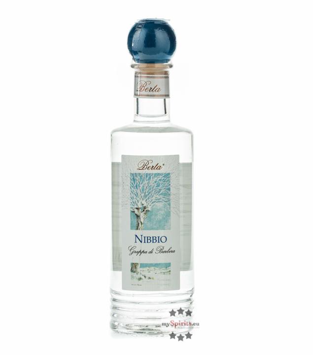 Distillerie Berta Nibbio - Grappa di Barbera / 40 % vol. / 0,2 Liter-Flasche