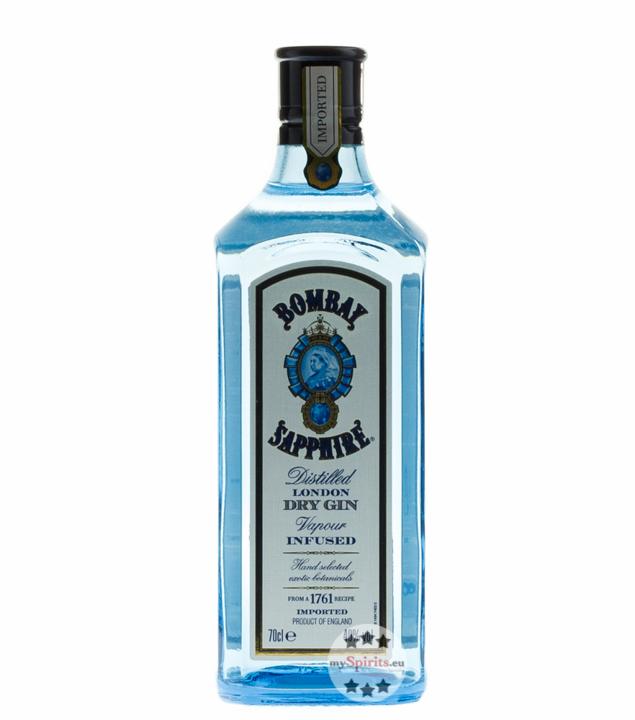 Bombay Sapphire Gin 0,7 Liter / 40 % Vol. / 0,7...
