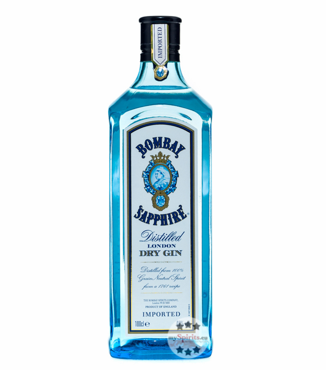 Bombay Sapphire Gin 40 - Cocktail-Gin / 40 % Vo...