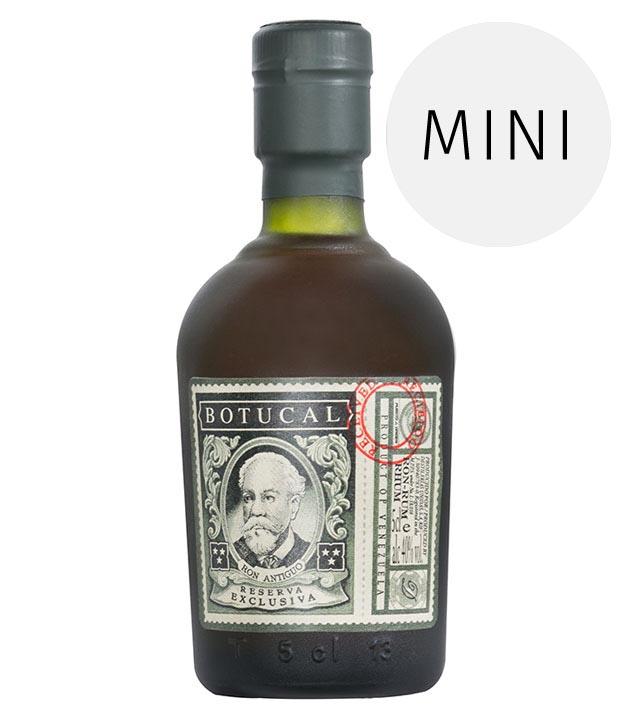 Rum: BOTUCAL Ron de Venezuela Reserva Exclusiva Miniatur / 40% Vol. / 0,05 Liter