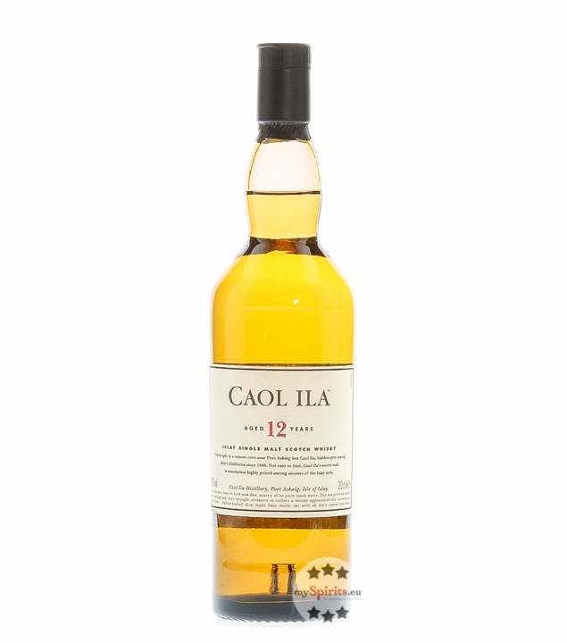 Caol Ila 12 Jahre Whisky Islay Single Malt / 43...