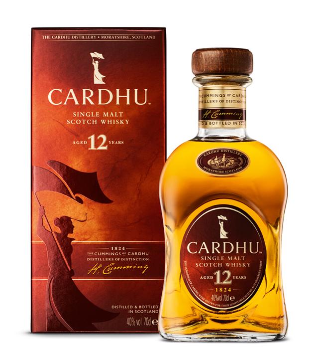 Cardhu Whisky: 12 Years Old Single Malt Scotch ...
