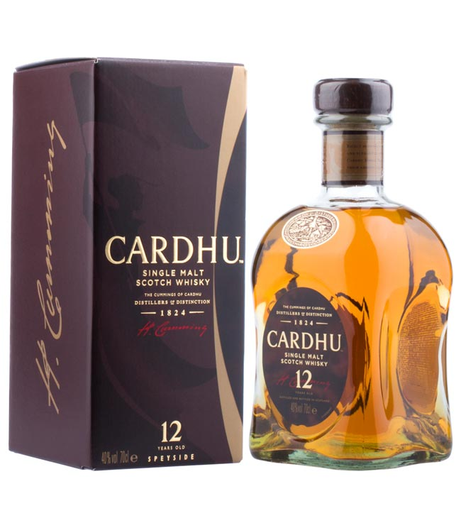 Cardhu Whisky: 12 Years Old Single Malt Scotch ...