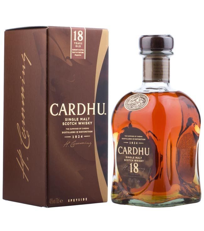 Cardhu Whisky: 18 Jahre alter Single Malt Scotc...