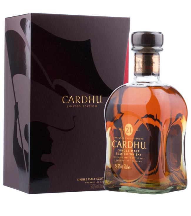 Cardhu Whisky: 21 Jahre Single Malt Scotch Spey...