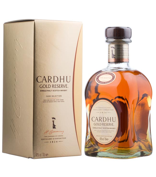 Cardhu Whisky: Gold Reserve Speyside Single Mal...