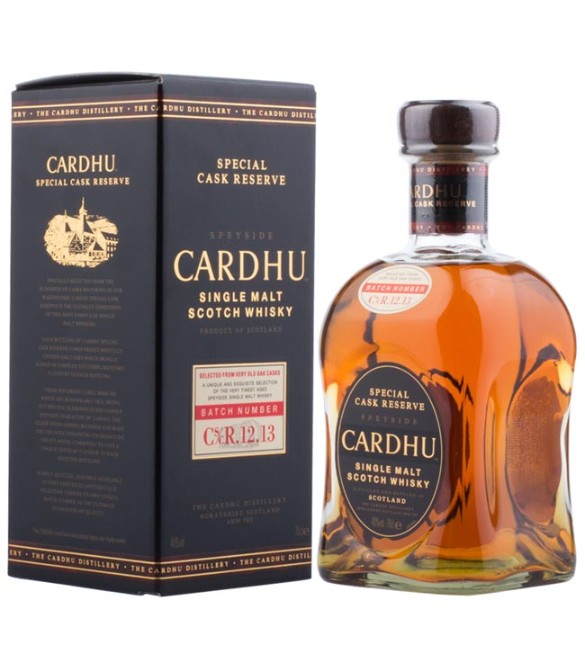 Cardhu Whisky: Special Cask Reserve Single Malt...