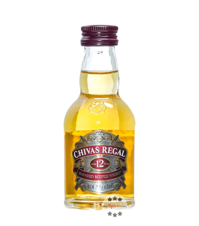 Chivas Regal 12 Jahre Blended Scotch Whisky Min...
