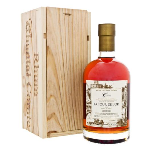 Chantal Comte La Tour de L'Or Brut de Fûts 2006 Rhum / 57,7 % Vol. / 0,7 Liter-Flasche in Holzschatulle