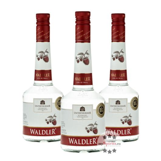 3 x Unterthurner Waldler Original / 39 % Vol. / 3 x 0,7 Liter-Flasche