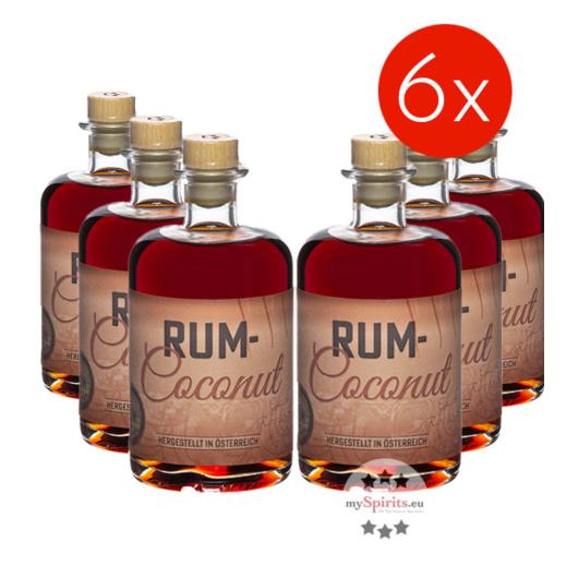 Prinz: Rum-Coconut Likör mit Inländerrum / 40% Vol. - 6 Flaschen Vorteilspaket
