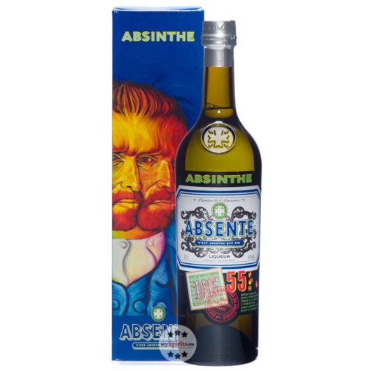 Absente 55 Absinthe Liqueur / 55 % Vol. / 0,7 Liter-Flasche in Geschenkkarton
