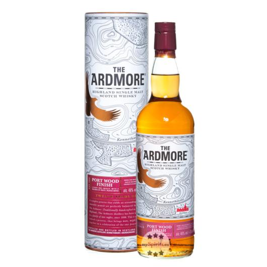 Ardmore Port Wood 12 Jahre Highland Single Malt Scotch Whisky / 46 % Vol. / 0,7 Liter in Geschenkdose