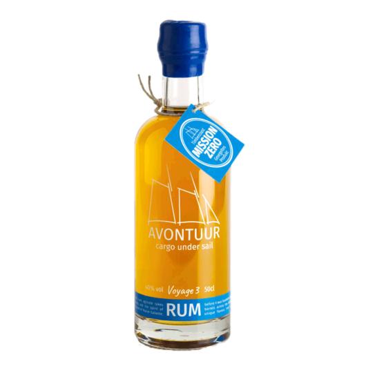 Avontuur Sailed Rum Caribbean Blue limitiert Voyage 3 / 40 % Vol. / 0,5 Liter-Flasche