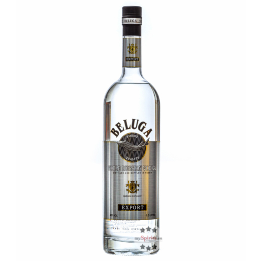 Beluga Noble Russian Vodka / 40 % Vol. / 1,0 Liter-Flasche