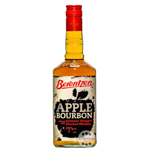 Berentzen Apple Bourbon Likör / 28 % Vol. / 0,7 Liter-Flasche