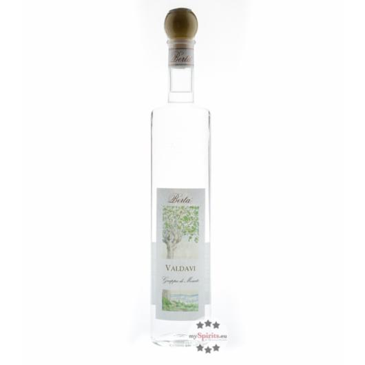 Distillerie Berta Valdavi - Grappa di Moscato / 40 % vol. / 0,7 Liter-Flasche