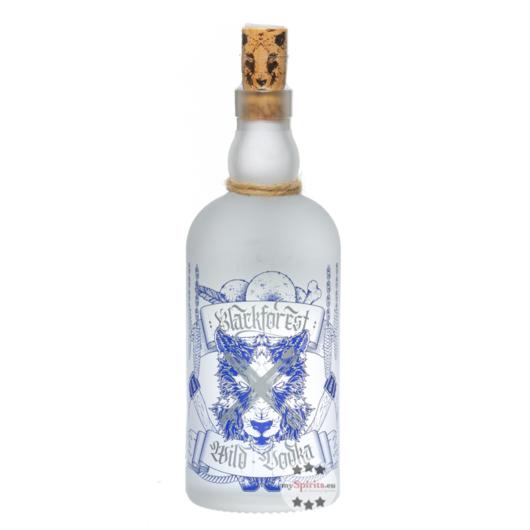 Wild Brennerei Blackforest Wild Vodka / 40 % Vol. / 0,5 Liter-Flasche