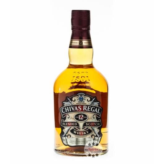 Chivas Regal 12 Jahre Blended Scotch Whisky / 40 % Vol. / 0,7 Liter-Flasche in Karton