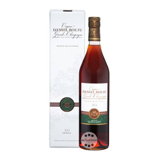 Daniel Bouju XO Empereur Cognac / 40 % Vol. / 0,7 Liter-Flasche in Geschenkkarton