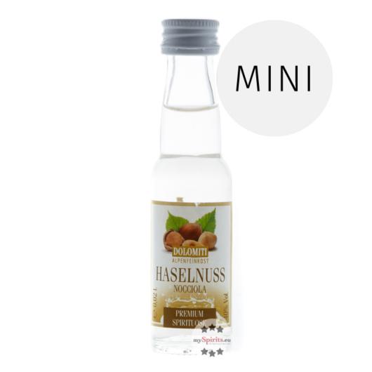 Dolomiti: Haselnuss Premium /  40% Vol. / 0,02 Liter