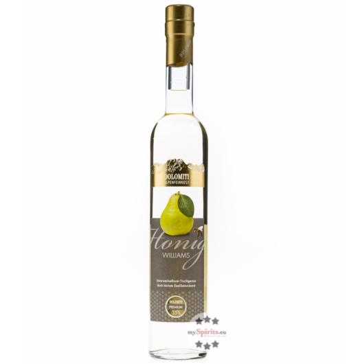 Dolomiti Honig Williams Birne Premium / 35 % Vol. / 0,5 Liter-Flasche